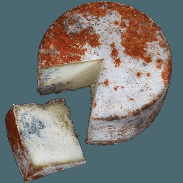 Ensalada de queso Gamoneú y manzana