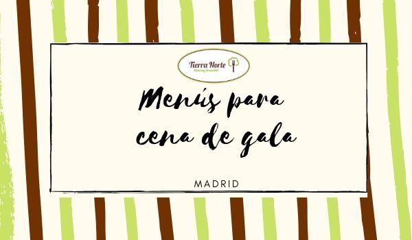 Cena de gala en Madrid