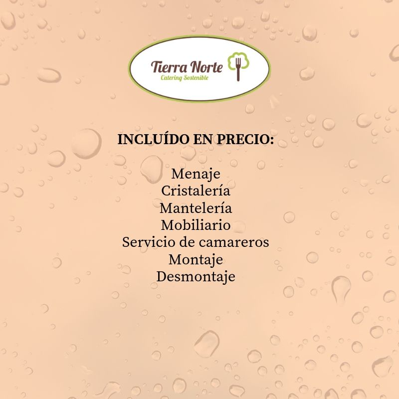 menu catering madrid